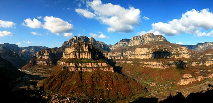 太行山大峡谷是国家4a级旅游景区,国家森林公园,国家地.